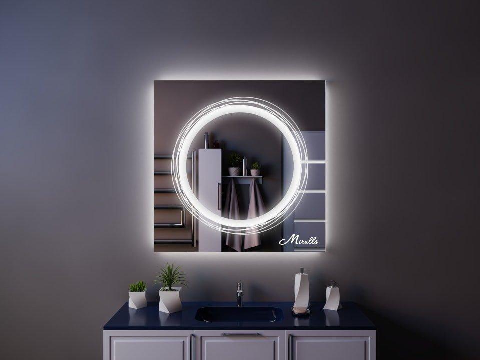Зеркало с подсветкой Tornado