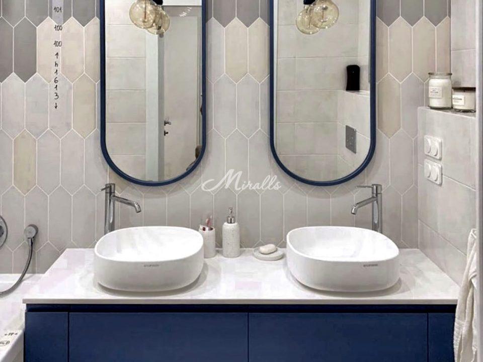 Зеркала Berta в частной квартире в ЖК Only