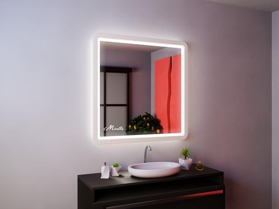 Зеркало в деревянной раме Leonardo Plus