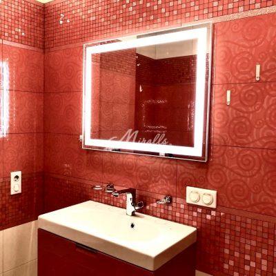 Зеркало Edging в частной квартире (ЖК Татьянин Парк)