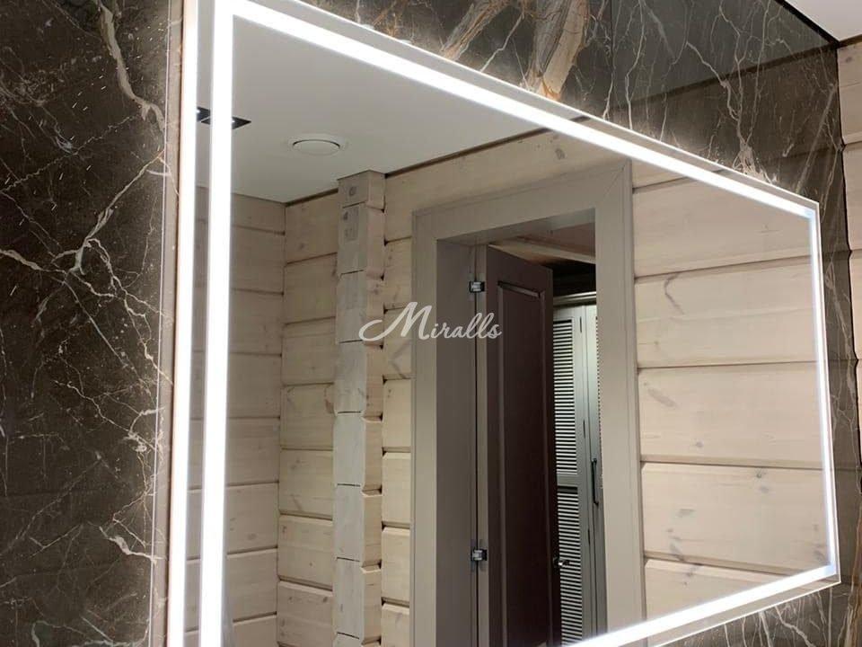 Зеркало Millennium в частной квартире (ЖК Life Ботанический)