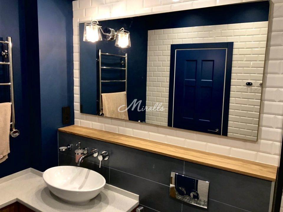 Зеркало Galla New в частной ванной (ЖК Хорошевский)