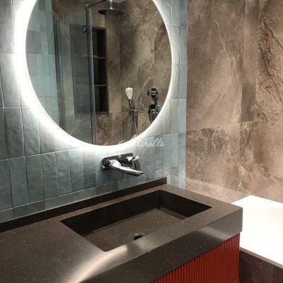 Зеркало Eclipse в частной квартире (ЖК Аэробус)