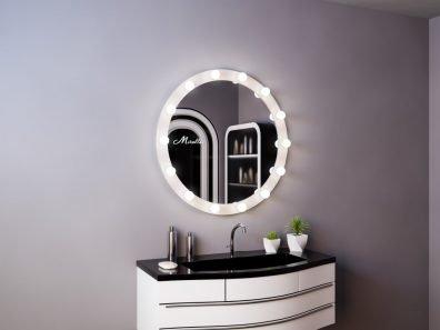 Гримёрное зеркало с подсветкой Burlesque