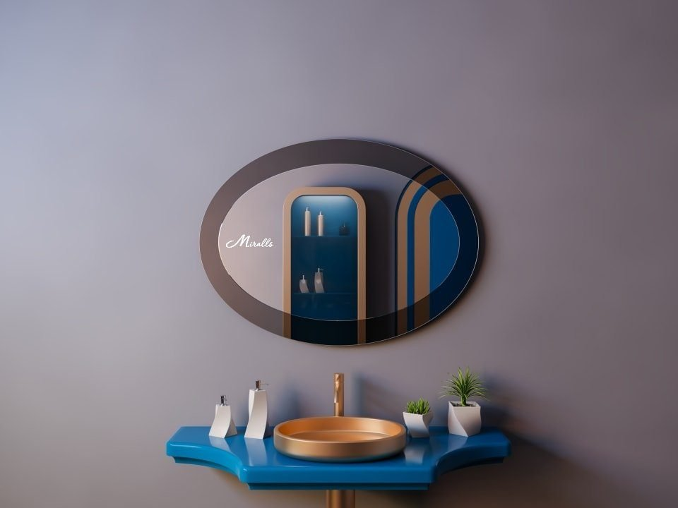 Зеркало в стиле ар-деко Demetra