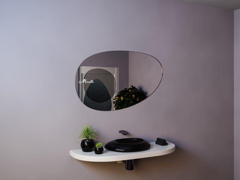 Фигурное зеркало без подсветки Elysium