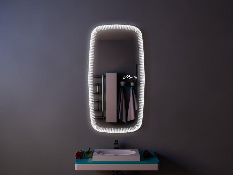 Фигурное зеркало в этническом стиле Faraon
