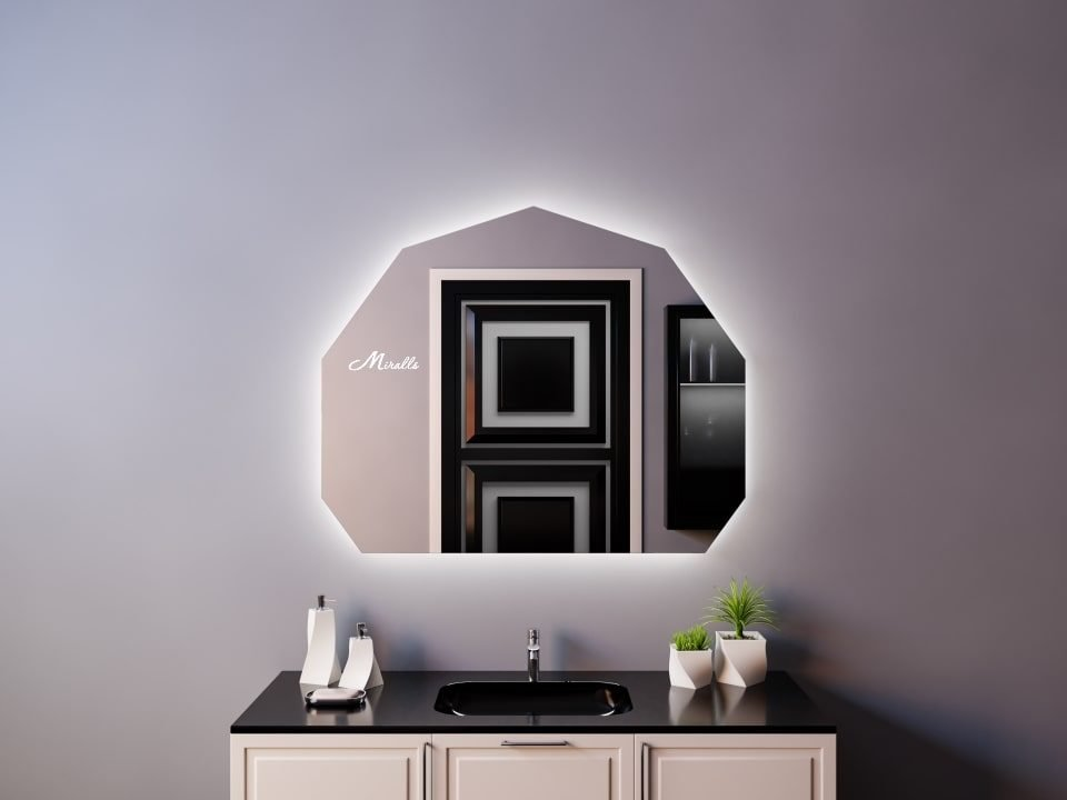 Зеркало с подсветкой Origami