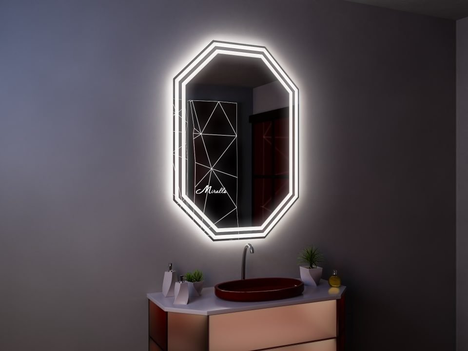 Зеркало с подсветкой Romeo Plus