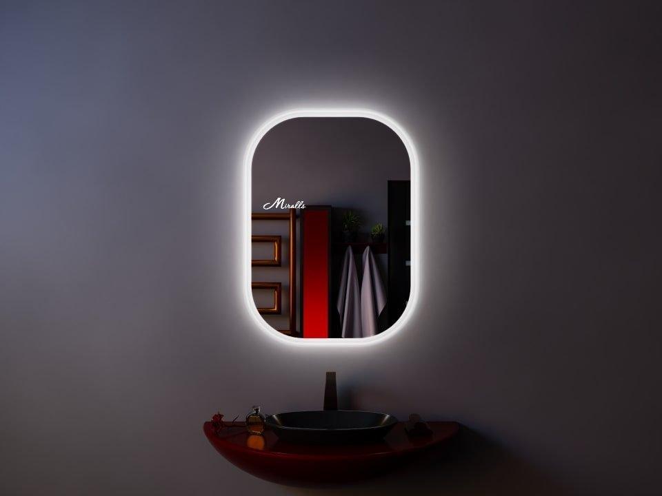 Зеркало с подсветкой округлой формы Grace