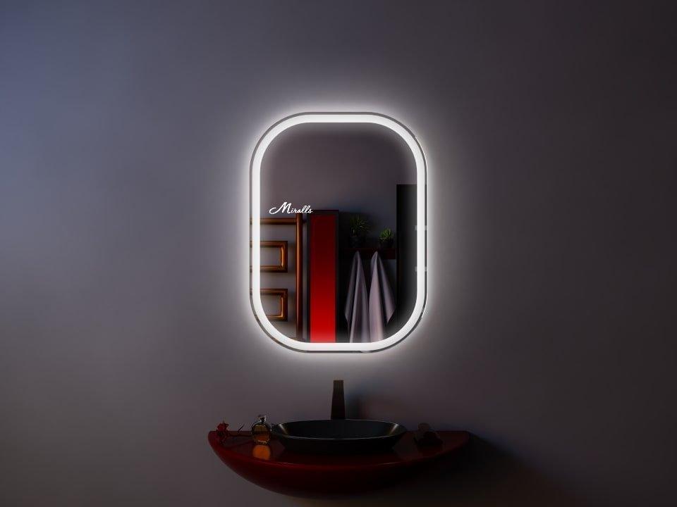 Зеркало с закругленными углами Grace Extra
