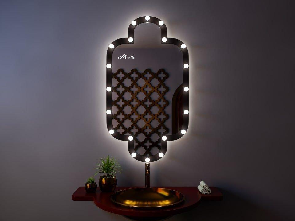 Гримёрное зеркало с подсветкой Marocco Ultra