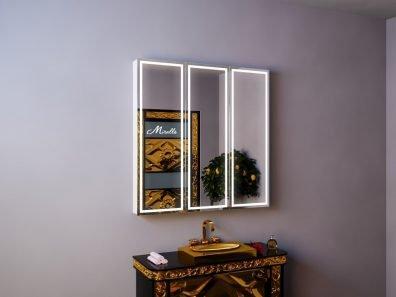 Зеркальный шкаф с подсветкой Triumph