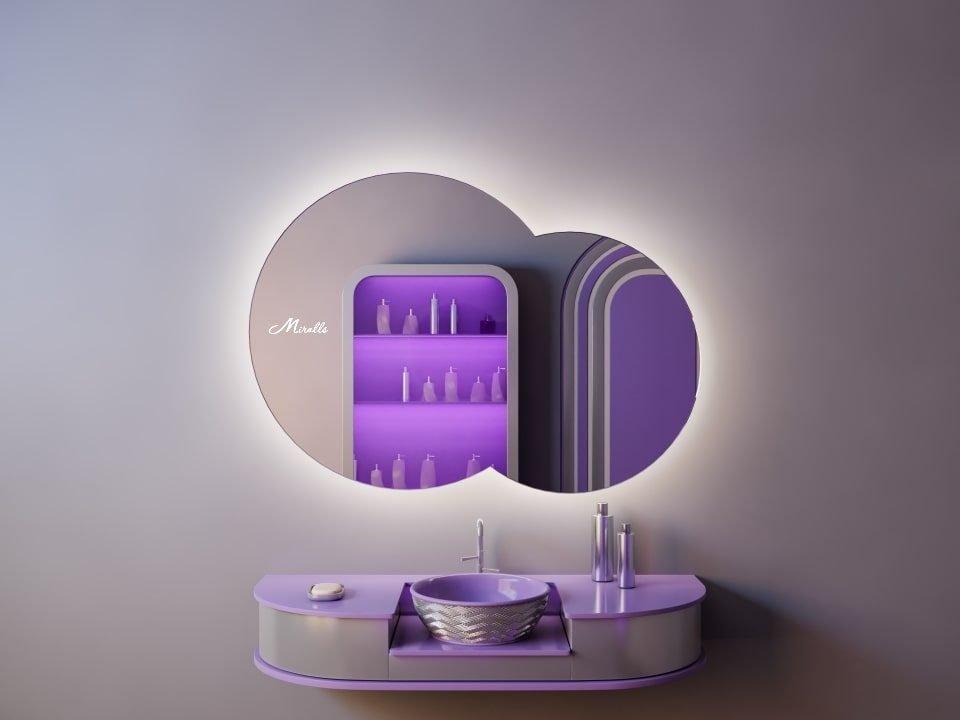 Зеркало с подсветкой Cloud Extra