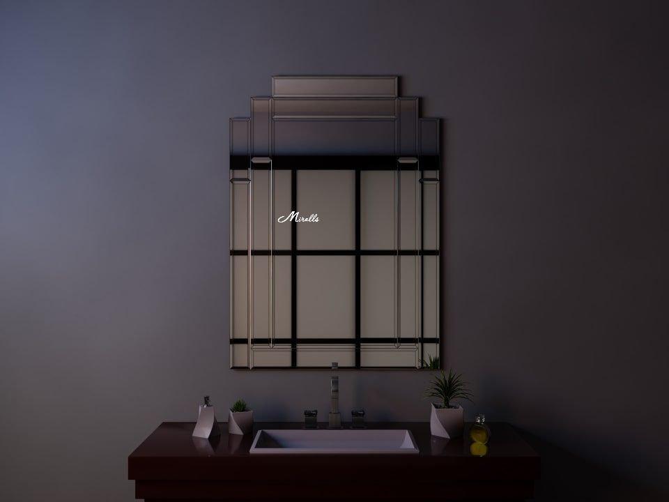 Зеркало без подсветки с фацетом Imperia