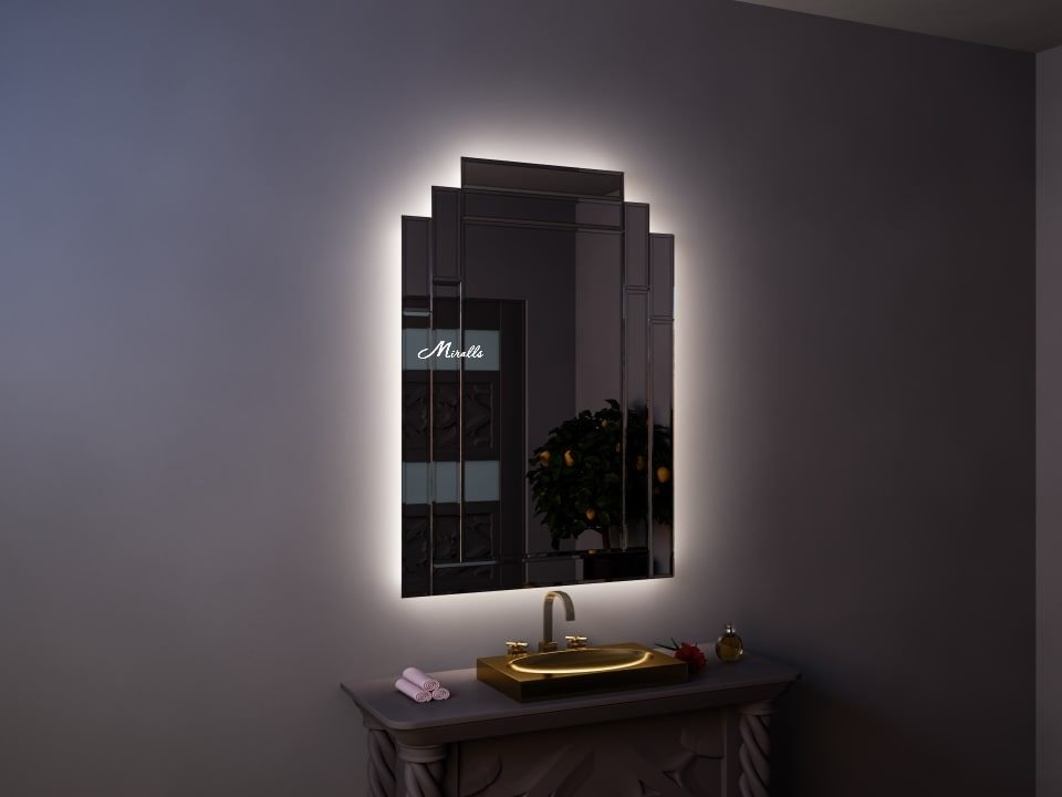 Эксклюзивное зеркало с подсветкой Imperia Extra
