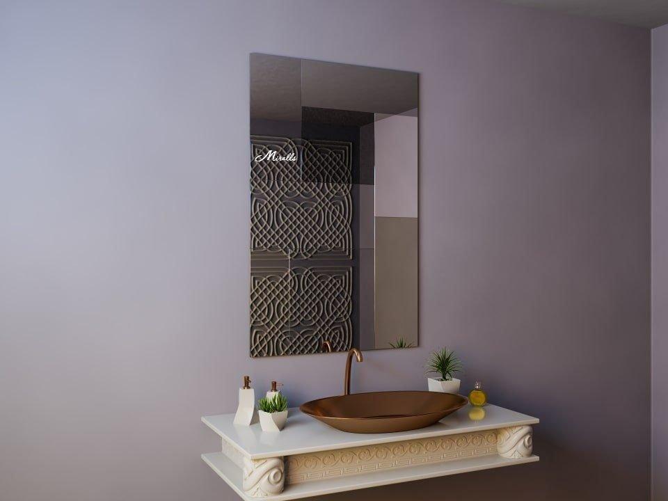 Зеркало без подсветки с разноцветным полотном Plaza