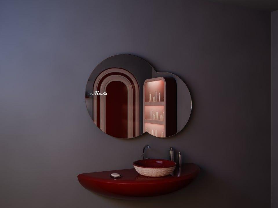 Зеркало без подсветки в форме облака Cloud
