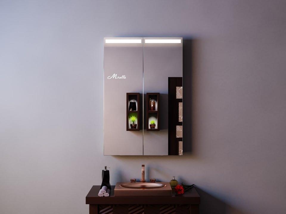 Зеркальный шкаф с подсветкой Dario