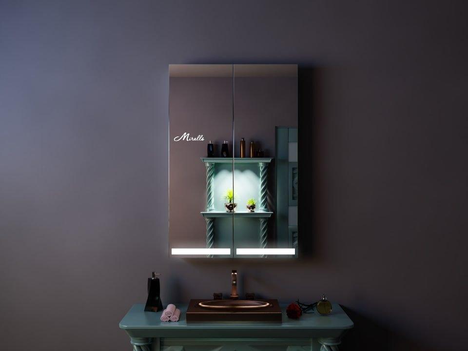 Зеркальный шкаф с подсветкой Duo