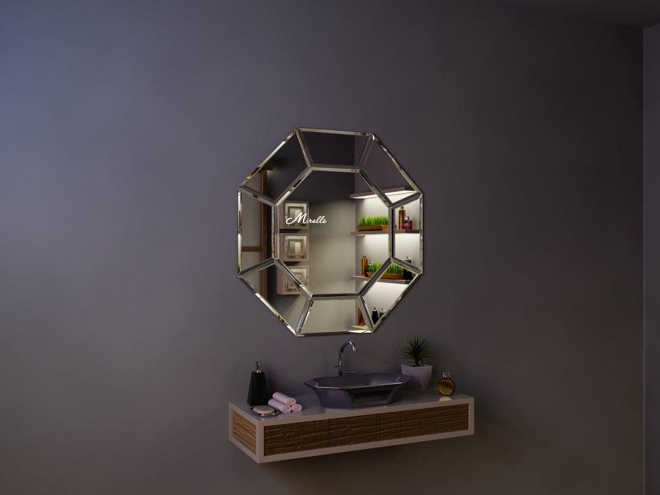 Эксклюзивное восьмиугольное зеркало Esmeralda