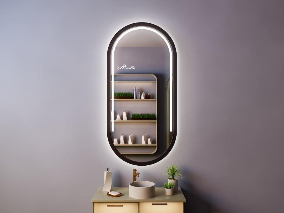 Капсульное зеркало с подсветкой Matilda