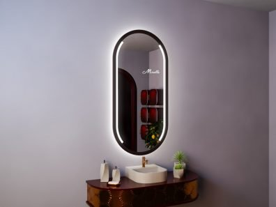 Капсульное зеркало с подсветкой Miranda