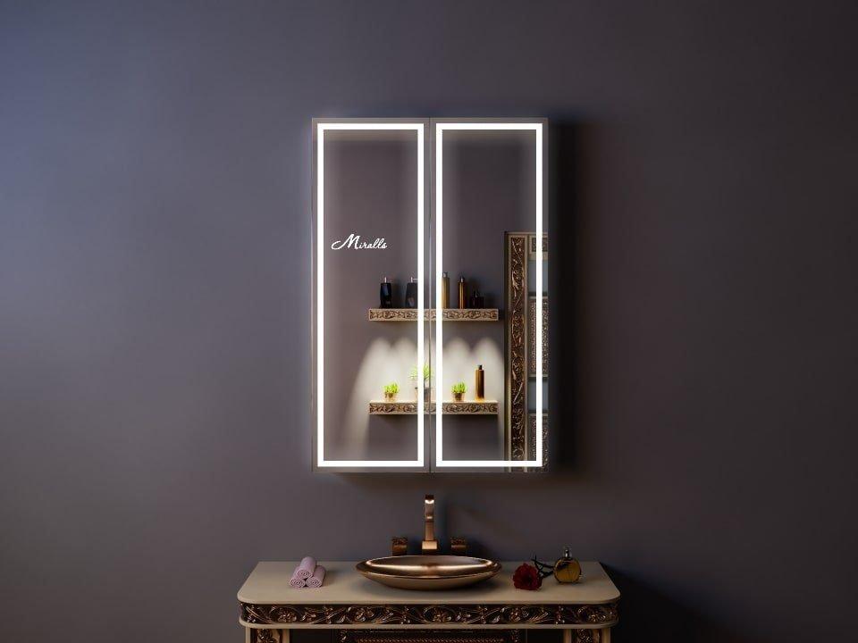 Зеркальный шкаф с подсветкой Roco