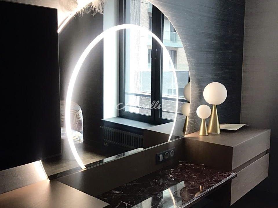 Зеркало Totem (индивидуальный проект) в ЖК Домашний