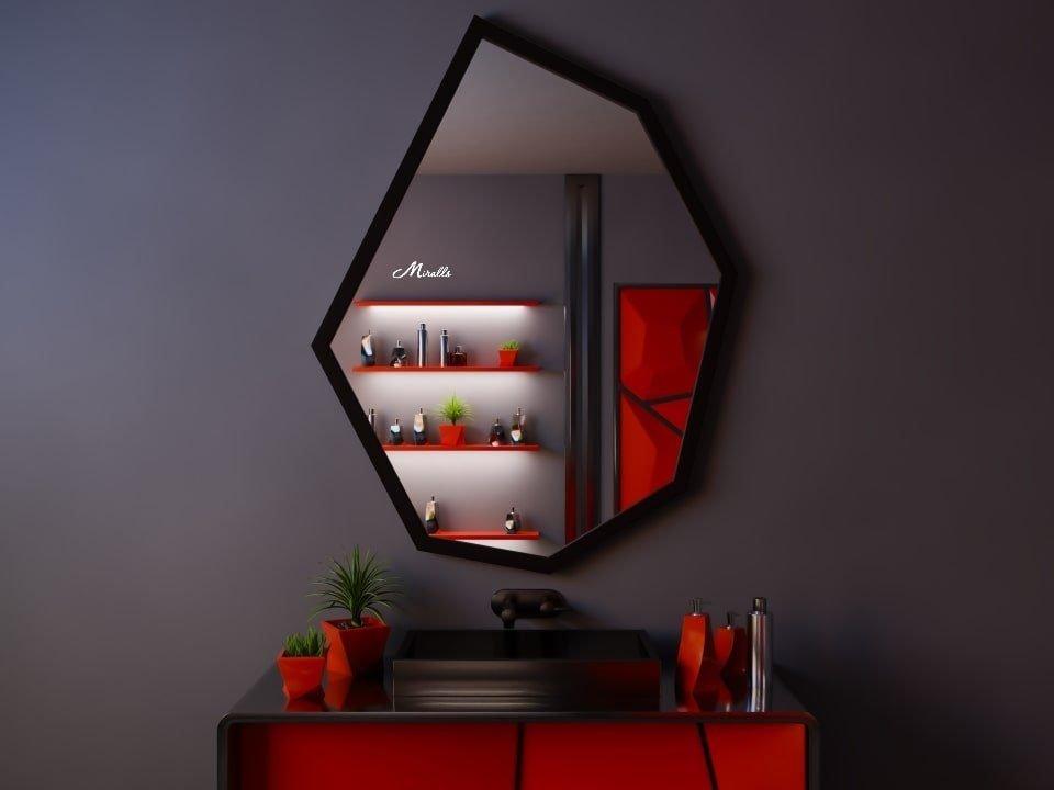 Асимметричное семиугольное зеркало Agat