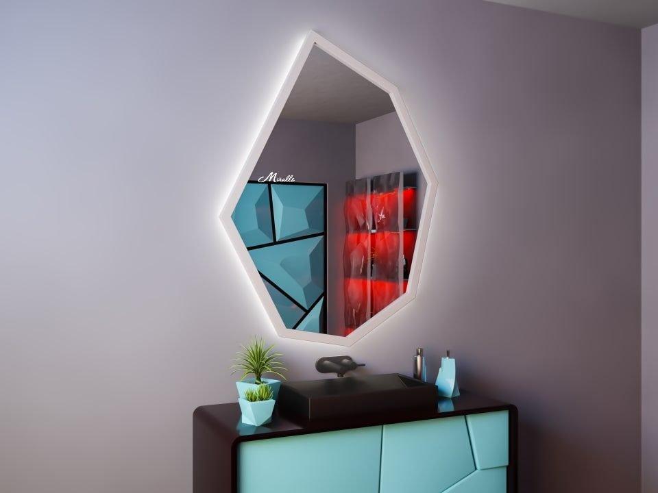 Зеркало с интерьерной подсветкой Agat Extra