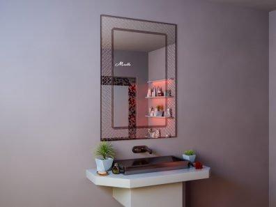 Зеркало с мозаичной рамкой Antique