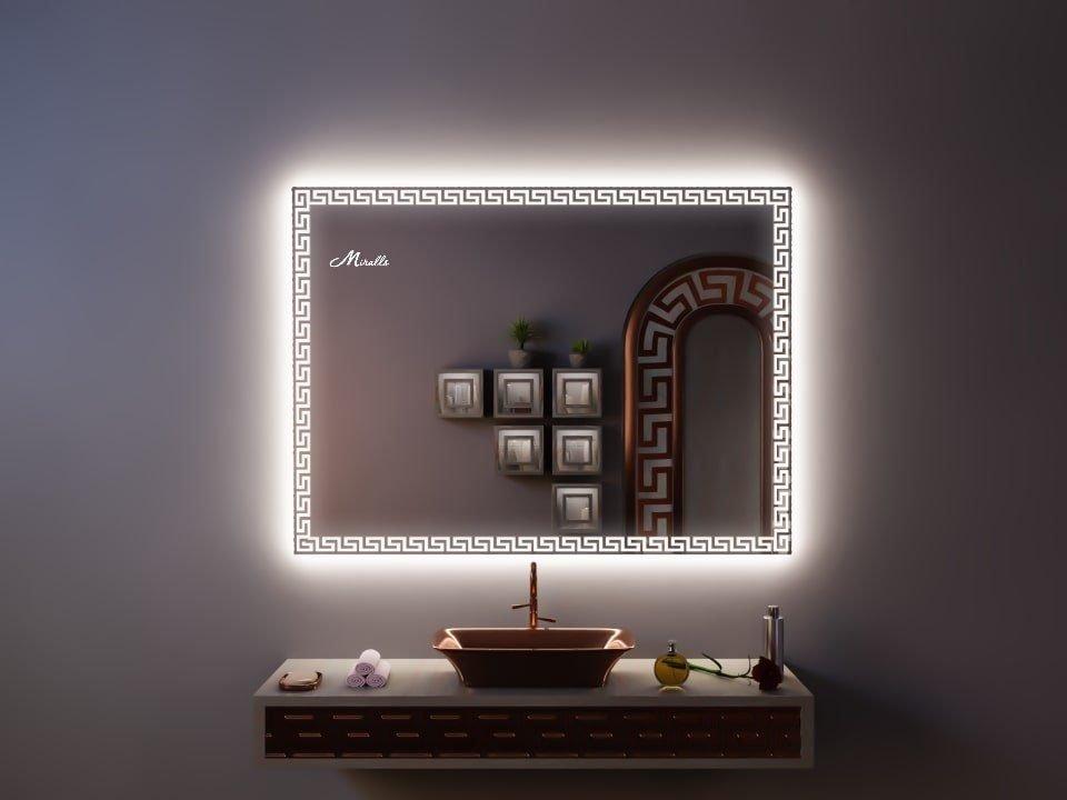 Зеркало с художественной подсветкой Gianni