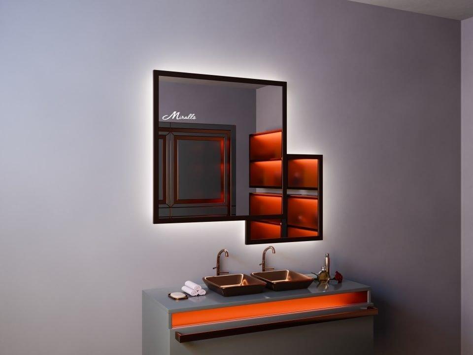 Эксклюзивное зеркало с подсветкой Kant Extra