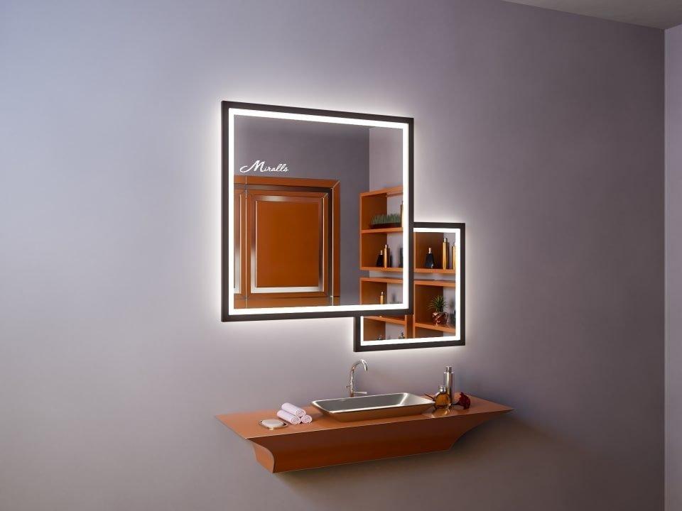 Зеркало с подсветкой в ванную комнату Kant Plus