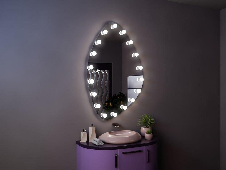 Гримёрное зеркало с подсветкой Monro