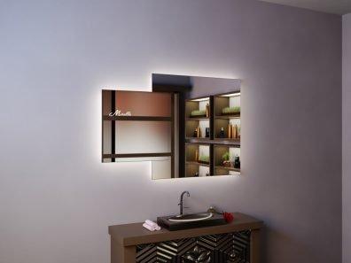 Зеркало с подсветкой Orlando Extra