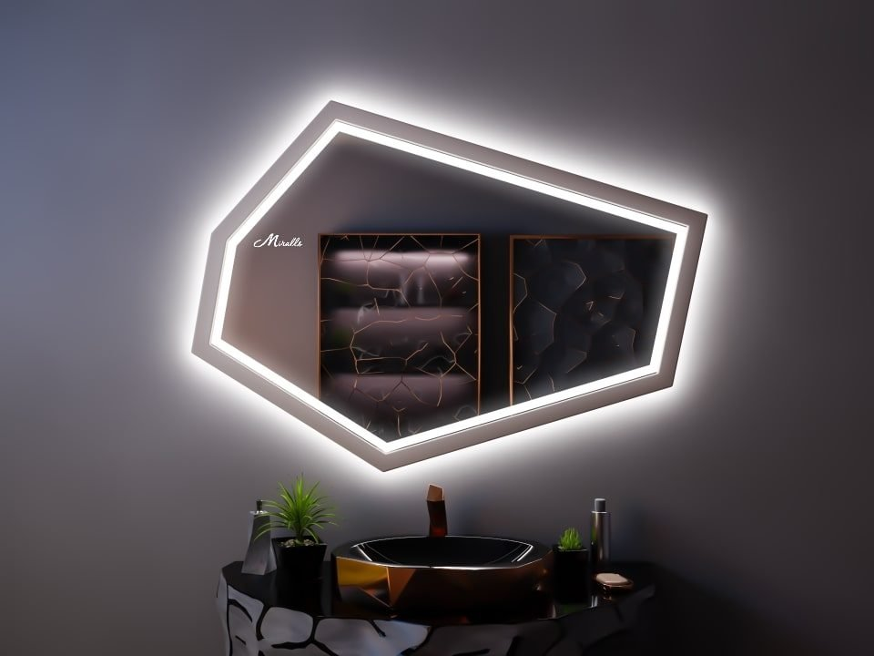 Зеркало с фронтальной подсветкой Proud Plus