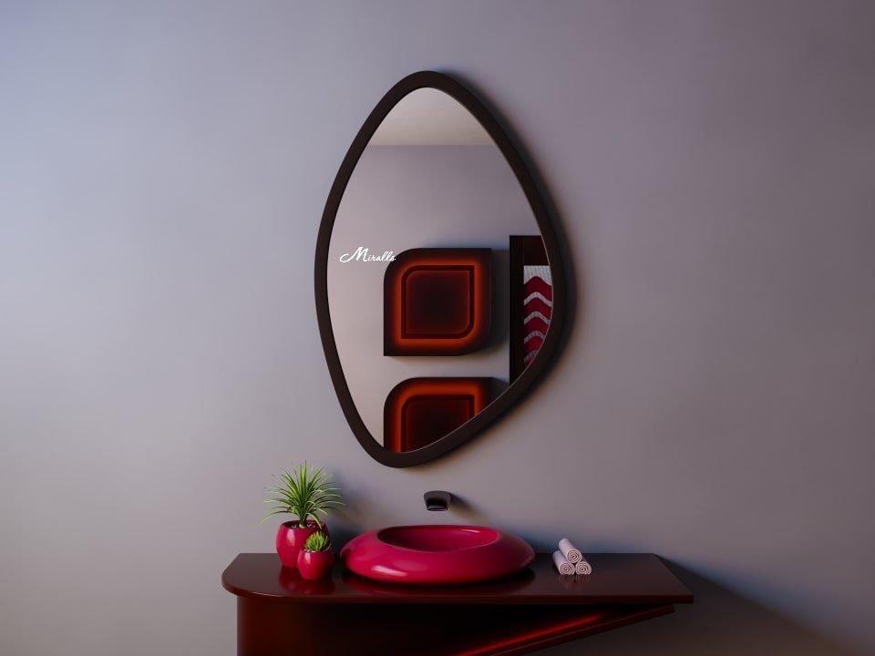 Фигурное зеркало без подсветки Ronda