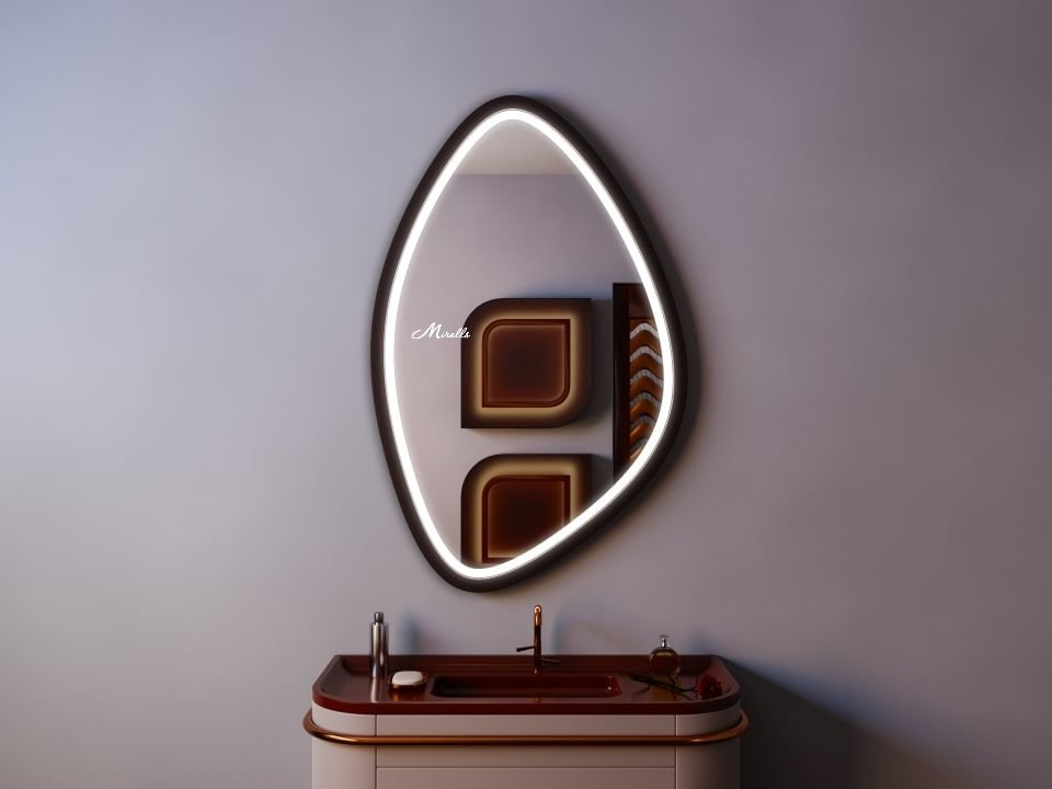 Зеркало с подсветкой в ванную комнату Ronda Plus
