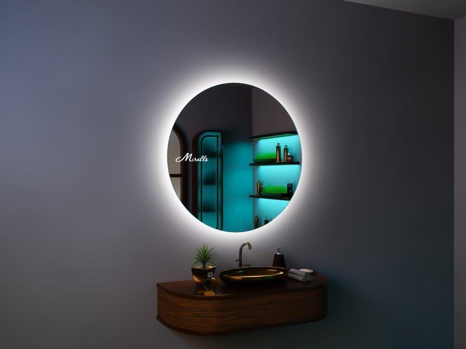 Зеркало со светодиодной подсветкой Sol