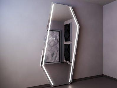 Зеркало с системой хранения Style