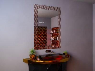 Зеркало с мозаичной окантовкой Smalta