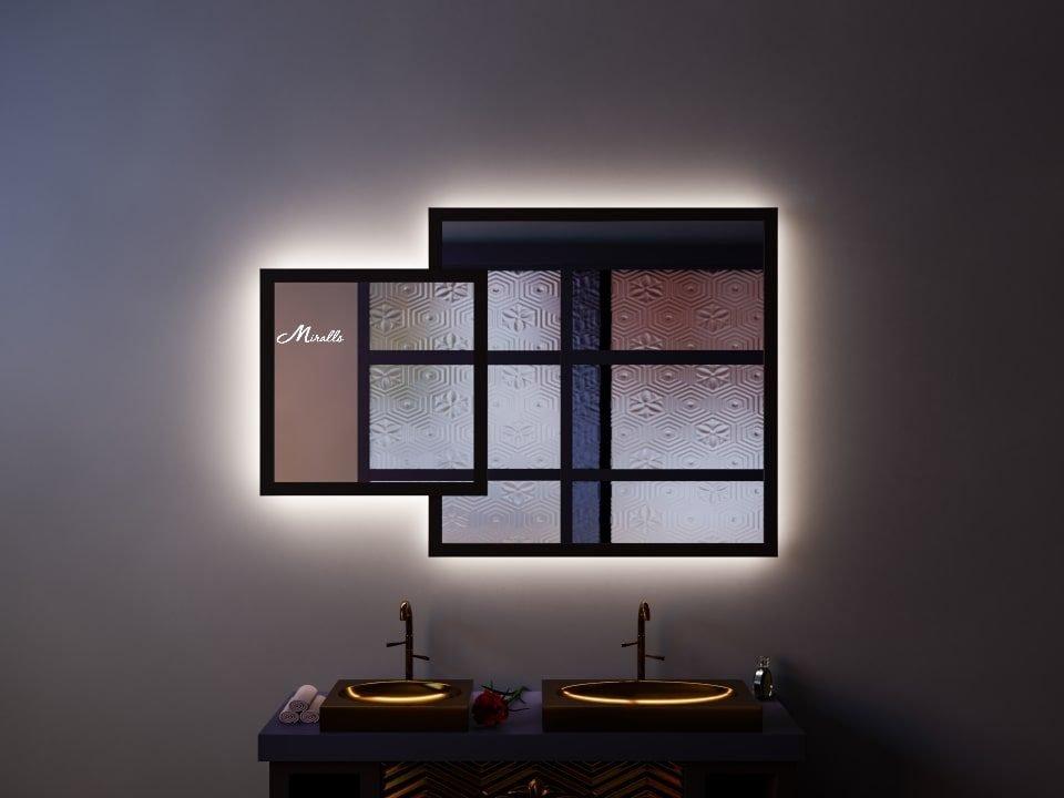 Двойное зеркало с подсветкой Toledo Extra