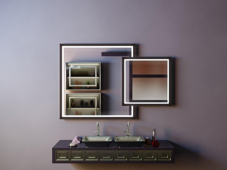 Зеркало с подсветкой в ванную Toledo Plus
