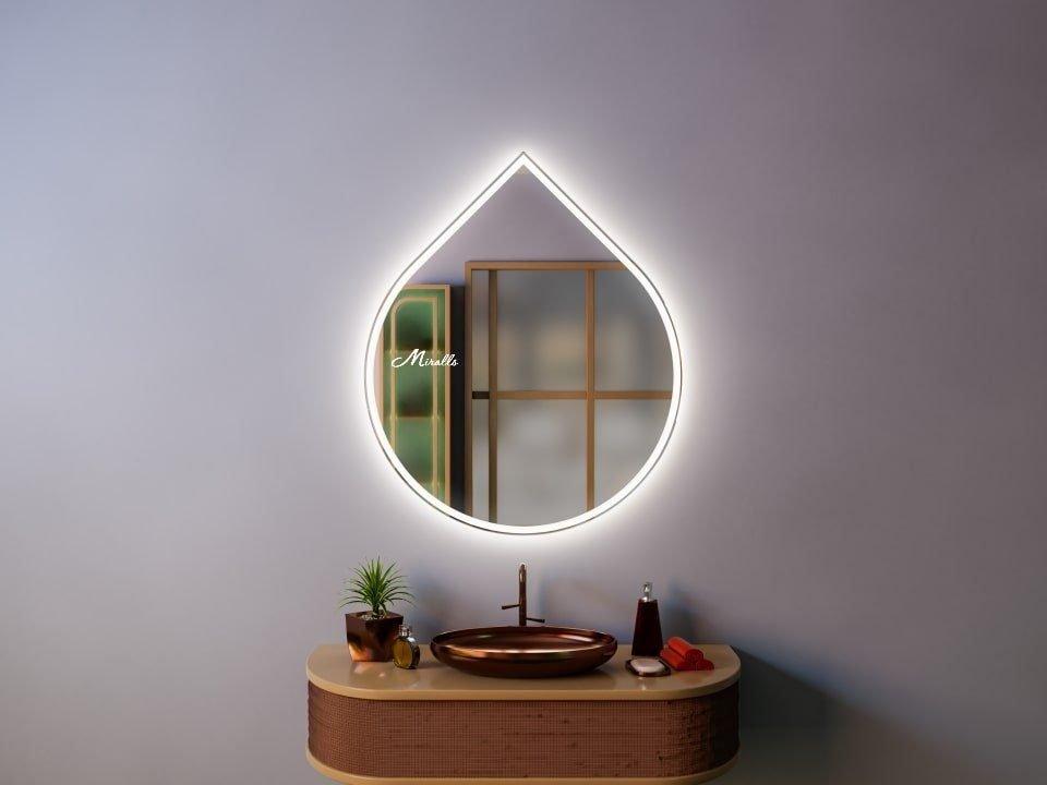 Зеркало в форме капли Art Plus