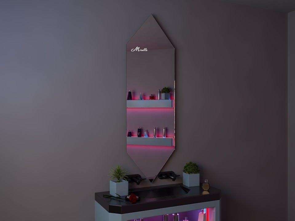 Зеркало необычной формы Savage