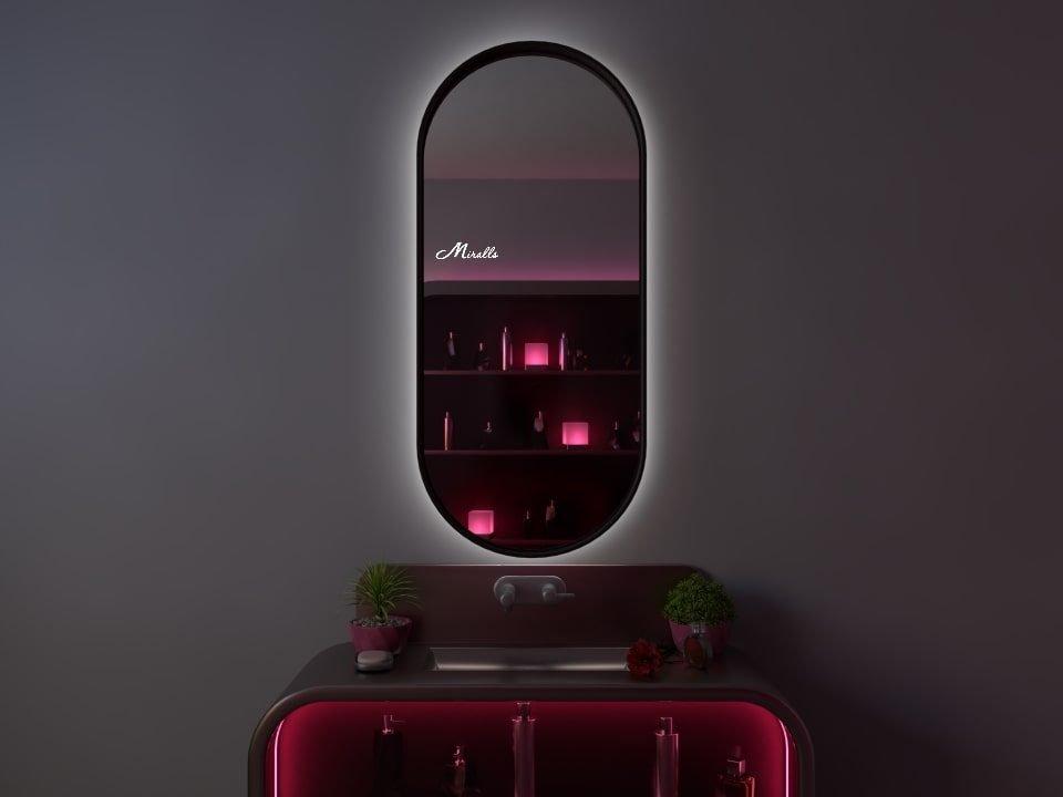 Зеркало с подсветкой в раме Barbara Extra