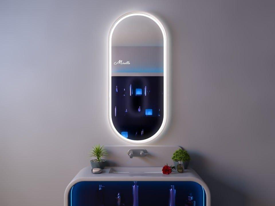 Зеркало с подсветкой в раме Barbara Plus