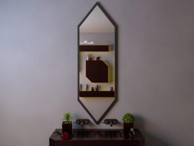 Эксклюзивное зеркало без подсветки Karat